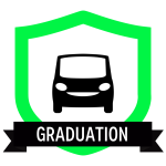 """Badge icon """"Car (1597)"""" provided by Simon Child, from The Noun Project under Creative Commons - Attribution (CC BY 3.0)"""